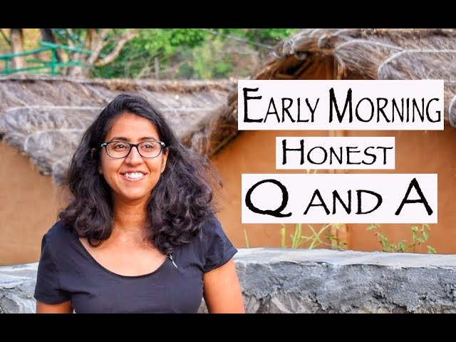 Honest Q & A | Have I met someone special during backpacking? | I have an announcement!