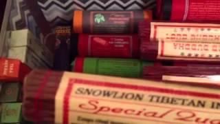 Tibetan incense collection