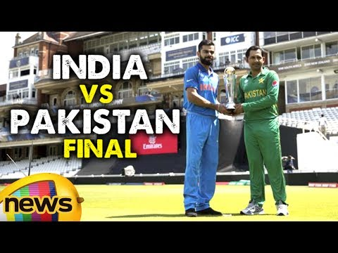 India vs Pakistan Final Champions Trophy 2017   Virat Kohli vs Sarfaraz   Ind vs Pak Preview