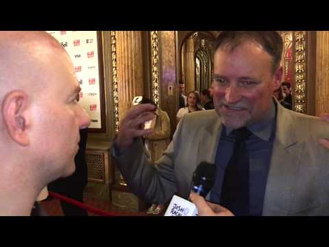 David Hewlett | The Shape Of Water actor | #TIFF17 Interview streaming vf