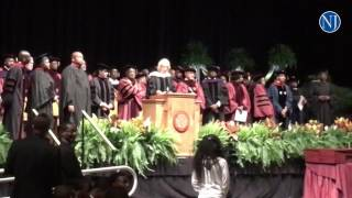 U.S. Secretary of Education Betsy DeVos gets cheered, booed during her commencement speech at Bethun
