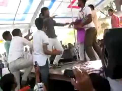 actress molested in public on stage