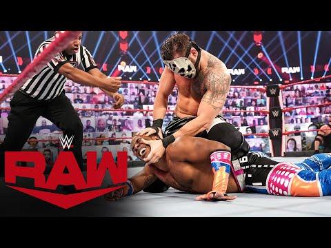 Xavier Woods vs. SLAPJACK: Raw, Jan. 25, 2021
