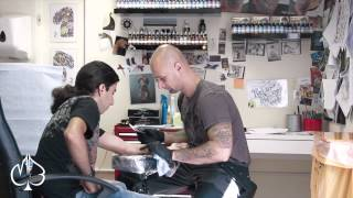 Getting My First Tattoos! [Tattoo Process] - Moustapha Berjaoui Thumbnail