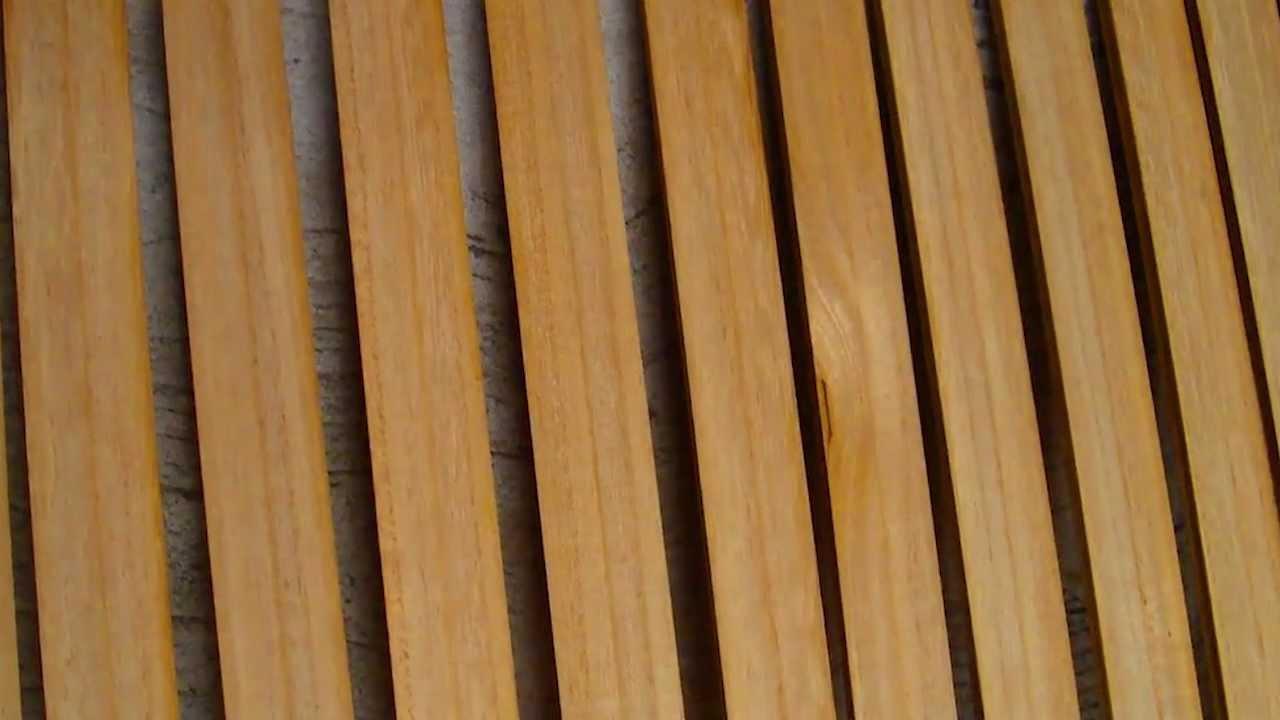 Cortinas de madera y pvc lisica youtube for Cortinas amarillas