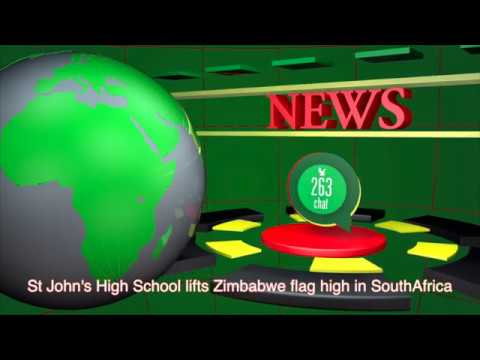 St John's High School lifts Zimbabwe flag high in SouthAfric