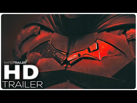 THE BATMAN First Look Trailer'(2021) Robert Pattinson, Superhero Movie HD
