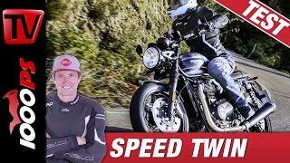 Überraschung! Triumph Speed Twin 1200 2019 - Test, Sound, Preis