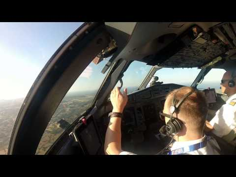[Cockpit View] InterSky ATR72-600 Taxi And Take-Off In Menorca (MAH/LEMH)
