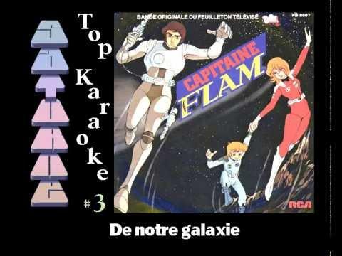 ♫ Amiga Musicdisk : Top Karaoke #3 Capitaine Flam / Saturne (1995)