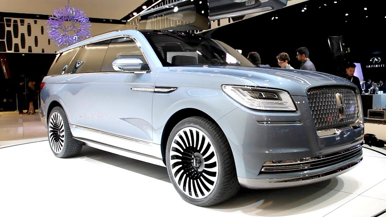 Lincoln Navigator Concept New York Auto Show YouTube - Lincoln car show