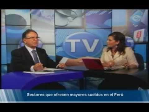Carreras más Pagadas en Perú - Manuel Cubas