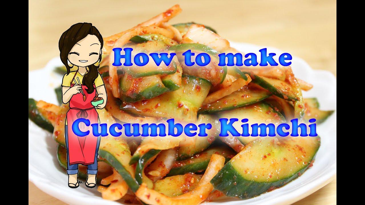 How To Make Kimchi Recipe Youtube