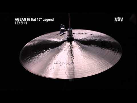 "15"" Hi Hat Legend video"