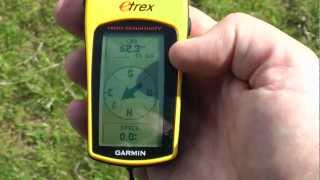 4. Creating and navigating to a waypoint using your handheld satnav (GPS) thumbnail