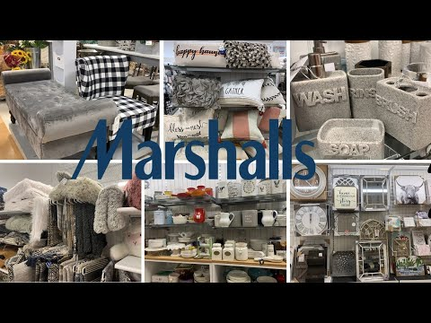 Marshalls Furniture * Home Decor * Kitchen & Bathroom Decor | Shop With Me Fall 2019