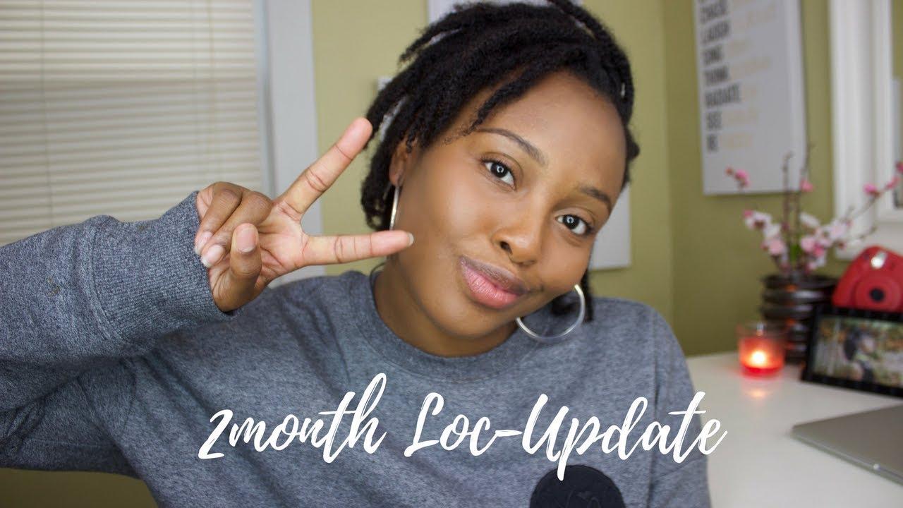 Starter Locs 2 Month Update Youtube