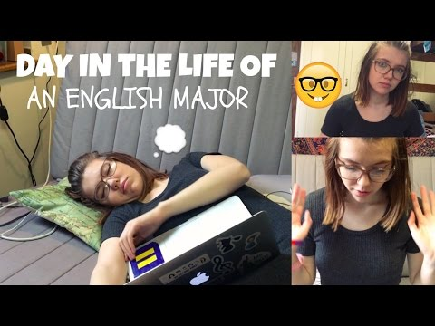 DAY IN THE LIFE OF AN ENGLISH MAJOR