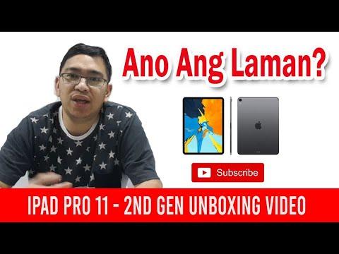 iPad Pro 11 2nd Generation Unboxing Videos