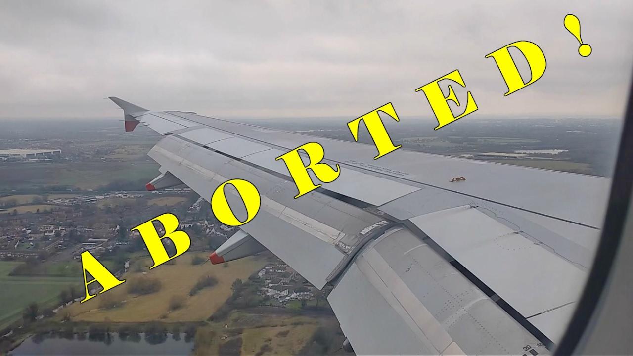 ABORTED LANDING - London Heathrow (British Airways)