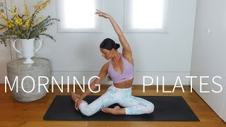 20 MIN MORNING PILATES || Full Body Workout