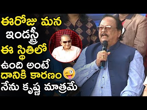 Today Our Industry Is In This Position Because Of Me And Krishna Only || Krishnam Raju || TWB