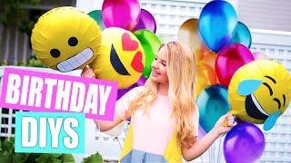 Birthday DIYS: Decor, Treats, and Gifts!