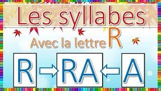 Syllabes avec la lettre R