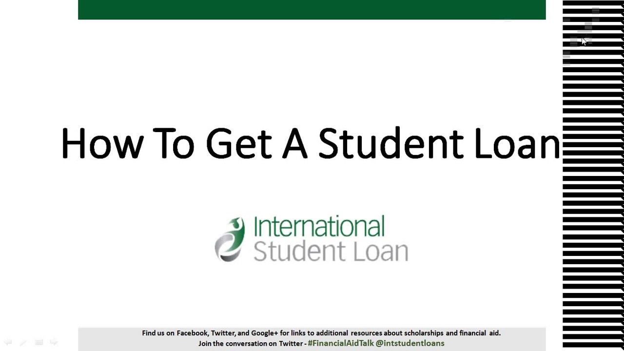 We did not find results for: How To Get An International Student Loan - YouTube