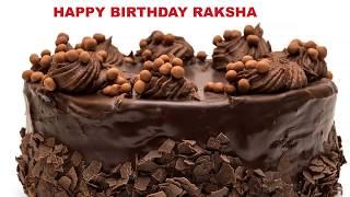 Raksha - Cakes  - Happy Birthday RAKSHA