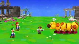 Mario & Luigi: Dream Team Boss 16 - Wiggler & Popple