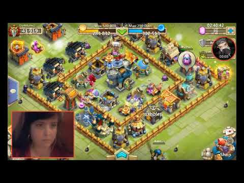 Castle Clash (sweeping Hbm & Lost Realm)