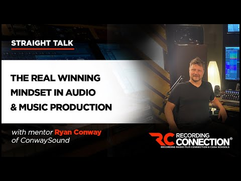 The Best Mindset to Have in Music Production & Audio