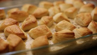 Biscuits and Sausage Gravy Casserole