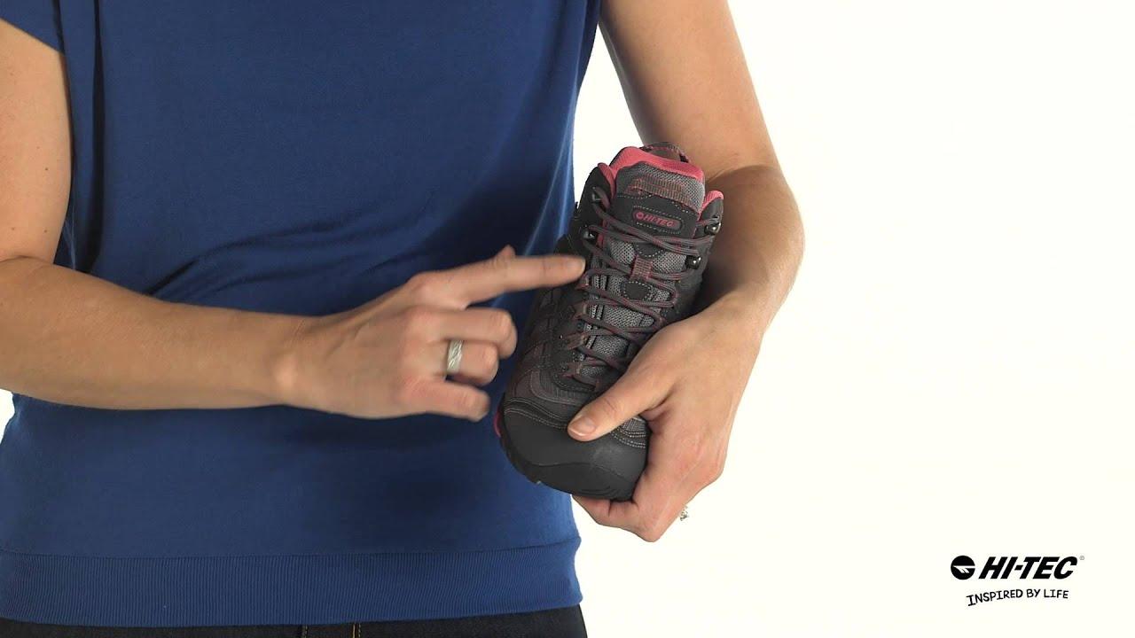 Womens Hiking Shoes Hi-Tec Penrith Mid Waterproof