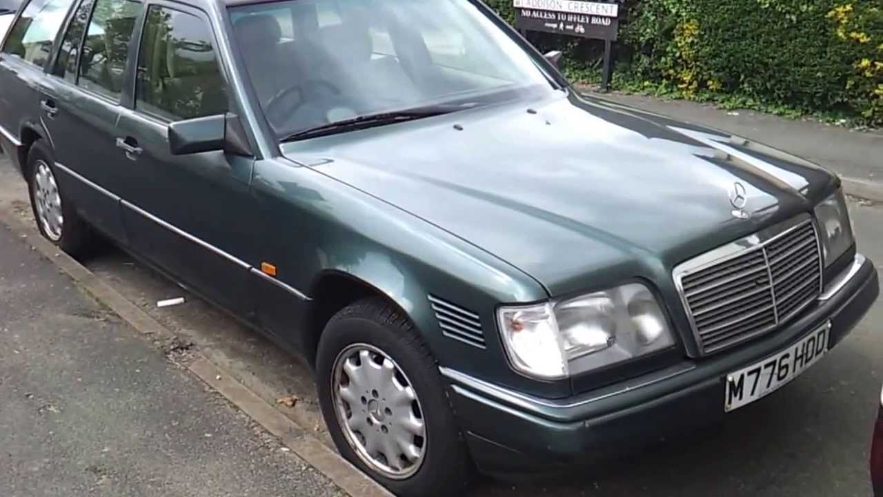 Mercedes e300 diesel w124 om 606 estate for sale youtube for Mercedes benz 1990 e300
