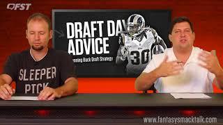 2018 Fantasy Football Running Back RB Draft Strategy