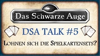 DSA Talk #5 - Sind die Spielkartensets unnötig?! - Meine Meinung