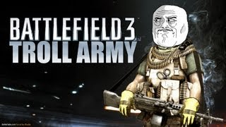 battlefield 3 troll army 64 man epic funny bf3 gameplay moments doom49ers