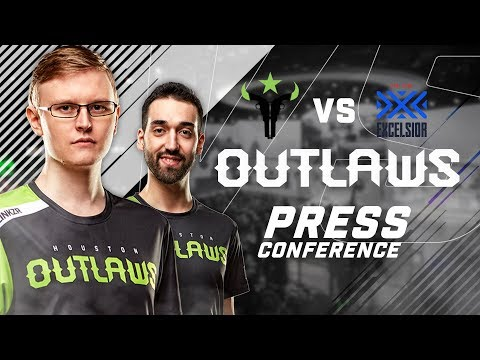 Houston Outlaws Press Conference Stage 3 Week 2 (New York Excelsior)