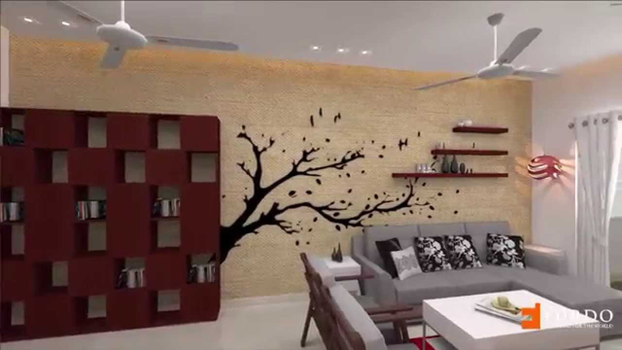 Furdo Home Interior Design Themes : Palms | 3D Walk Through | Bangalore