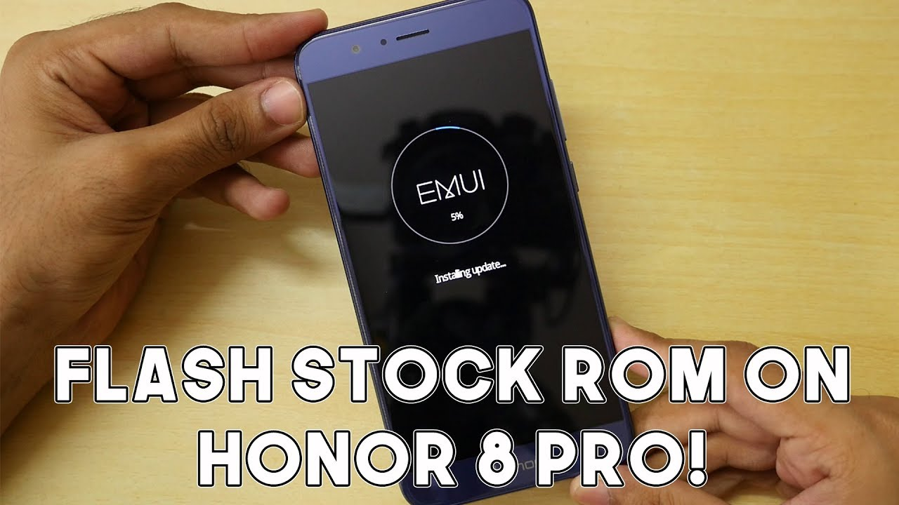 How to Flash Stock ROM/Unbrick Honor 8 Pro!