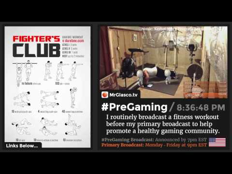 #PreGaming: DAREBEE Fighter's Club Workout 💪