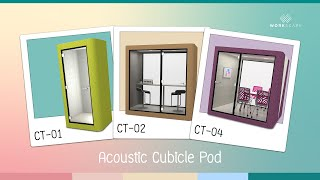 Acoustic Cubicle Pod (Phone Pod, Creative Pod,Meeting Pod)