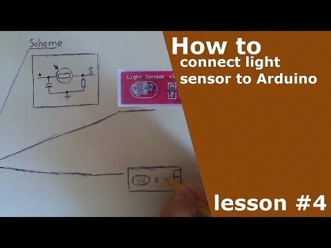HOW TO CONNECT LIGHT SENSOR TO ARDUINO | DIY | ARDUINO LESSONS