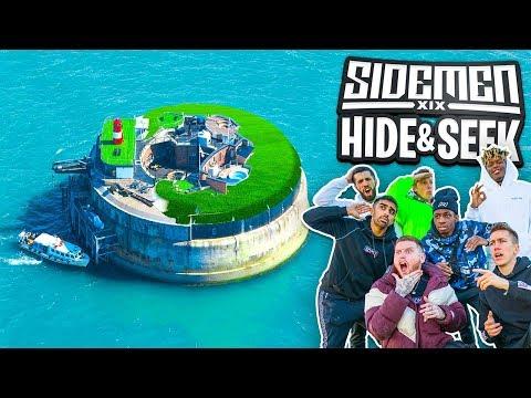 SIDEMEN HIDE & SEEK ON A PRIVATE ISLAND