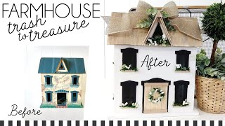 Farmhouse Trash To Treasure | Farmhouse DIYs