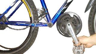 Откручивается шатун с педалью на велосипеде что делать(Мой ВК https://vk.com/id263241899 Полезные видео с моего канала, о ремонте велосипеда. 1) Задняя втулка колеса обслуживан..., 2015-10-06T18:57:05.000Z)