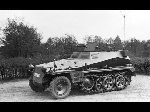 German Half Tracks 1910 to 1945 - Deutsche Halbkettenfahrzeug