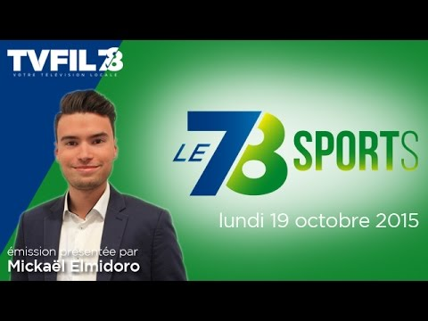 Le 7/8 Sports – Emission du lundi 19 octobre 2015